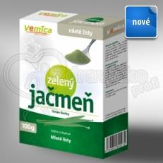 Zelený jačmeň - mleté listy 100g