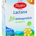 Lactana Bio 1 - 600g od narodenia