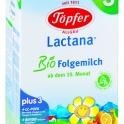 Lactana BIO Kinder on MIlk 500g - pokračujúca výživa od 12.mesiaca