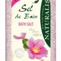NATURALIS Soľ do kúpeľa ruža 1000g