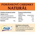 Pohánkové chrumky natural 50g