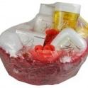 Mandľová kozmetika darčekové balenie loďka