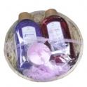 Levanduľová soľ+kúpeľ darčekové balenie
